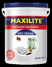 Sơn Maxilite Nội thất Siêu Trắng Chống Nấm Mốc 30C - 25272S 18L