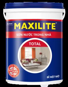 Sơn Maxilite Total Nội Thất Trong Nhà Cao Cấp A901  Thùng 18l