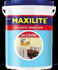 Sơn Maxilite Hi-Cover Nội thất Bề Mặt Sáng mịn ME6 18L
