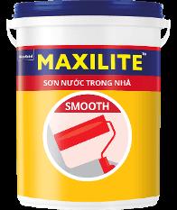 Sơn Maxilite Smooth Nội thất Kinh Tế Bền đẹp ME5  - 18L