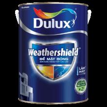 Sơn Ngoại Thất Cao Cấp Dulux Weathershield BJ9 Bề Mặt Bóng  Lon 5L