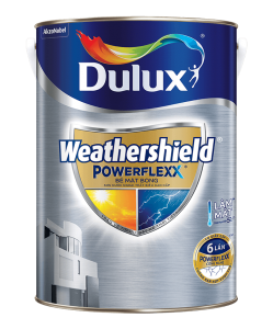 Sơn Ngoại Thất Siêu cao cấp Dulux Weathershield Powerflexx  Lon 5l